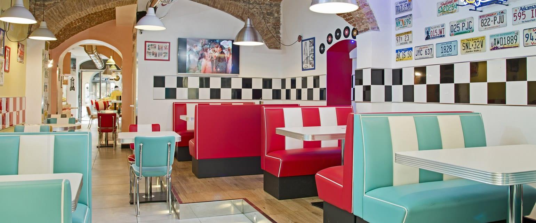 Arredo vintage l 39 arredo american style per case e locali - Cucine americane anni 50 ...