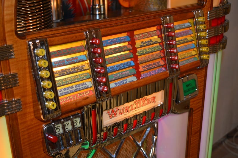 Jukebox Wurlitzer 1015 - American Style Lusima