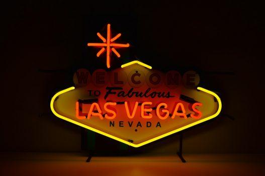 Insegna al Neon Las Vegas Small