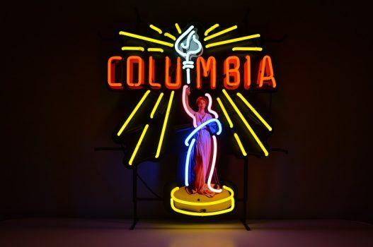 Insegna al Neon Columbia