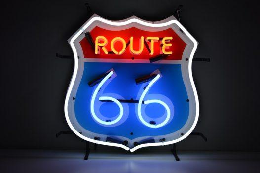 Insegna al Neon Route 66