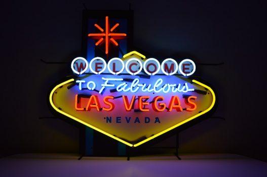 Insegna al Neon Las Vegas Large