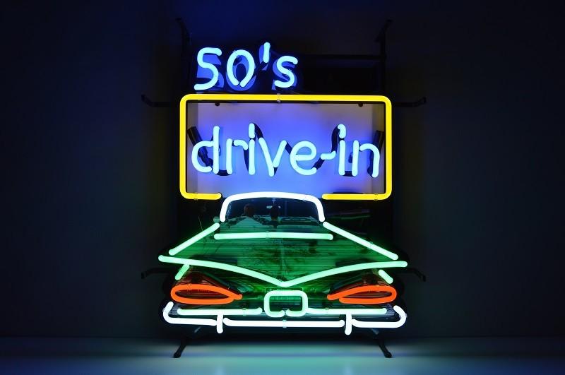 Insegna al Neon 50' Drive in