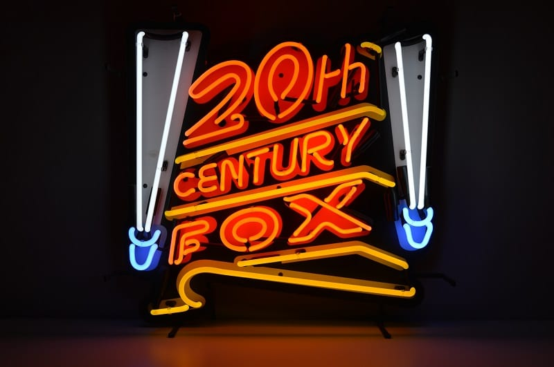 Insegna al Neon 20th Century Fox