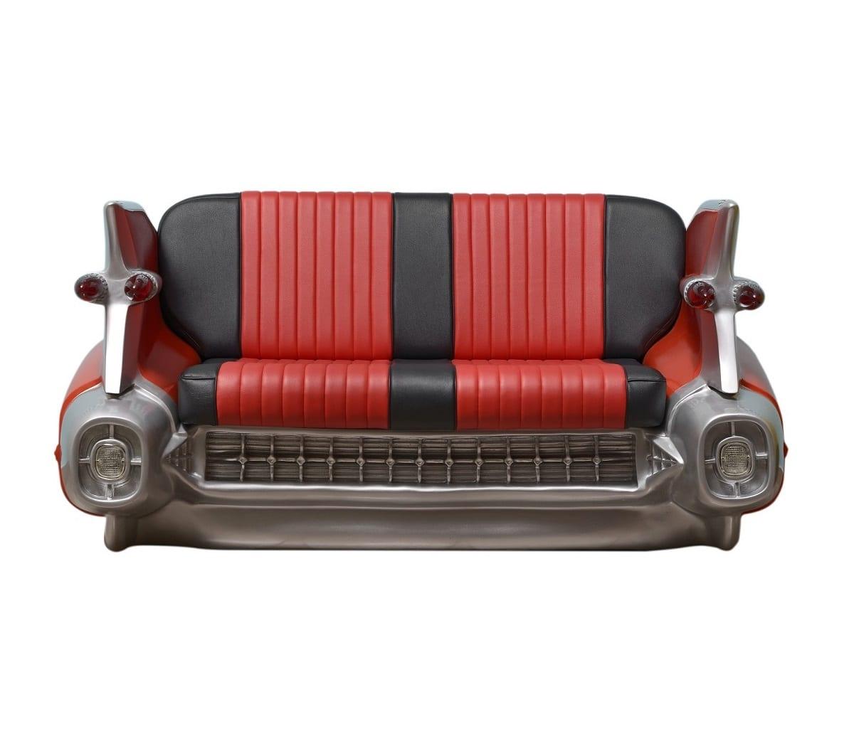 Divano Cadillac Rosso