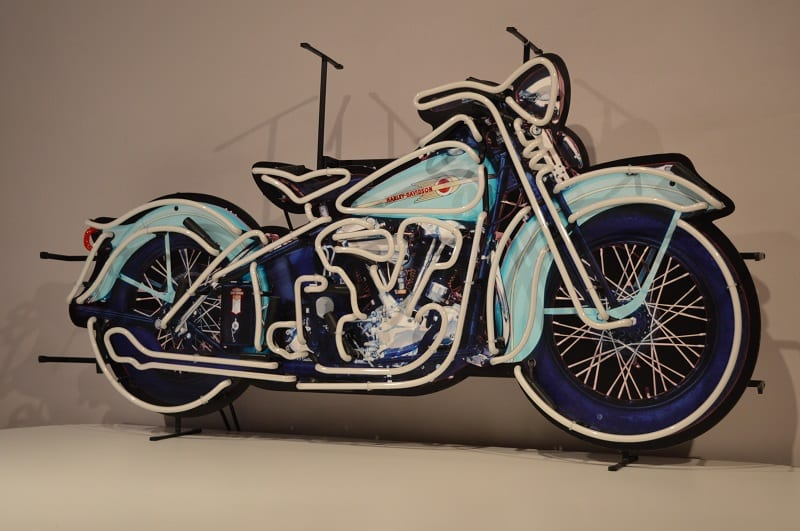 Sgabelli Harley Davidson : Neon modello: neon harley davidson moto american style lusima