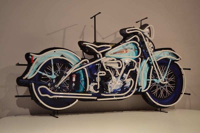 Neon modello: neon harley davidson moto american style lusima