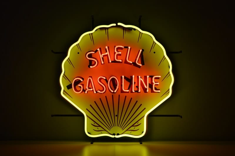 Insegna al Neon Shell