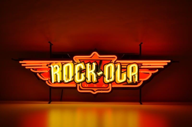 Insegna al Neon Rockola