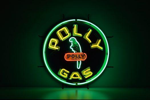 Insegna al Neon Polly Gas